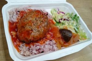 Cafe Flattie The Kitchen - トマトバターソースのハンバーグ
